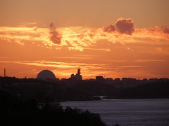 Sunset over Stockholm (Papa Razzi1) Tags: november autumn sunset view sweden stockholm waters nacka