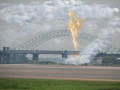 lightning strikes (bazza1949) Tags: bridge runcorn widnes