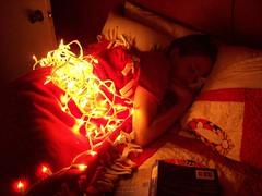 christmas lights nap 2 (saraandaaron) Tags: christmas xmas lights christmaslights minilights