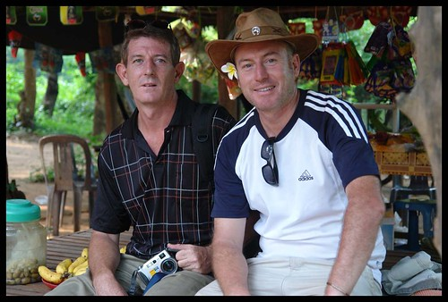 Richard and Charles in Battambang