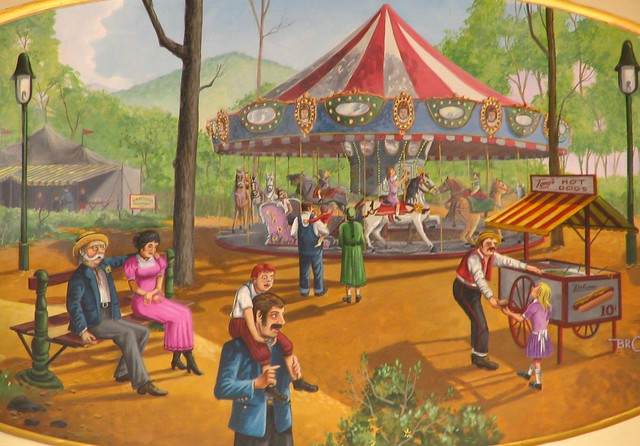painting: a day at the fair