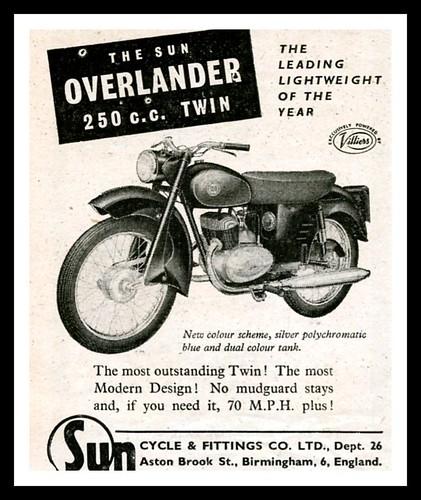 Sun Overlander 250 Ad by montanaman1