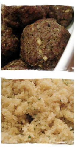Things & Stuff: My Favorite Recipe: Pesto Meatballs with Cous Cous