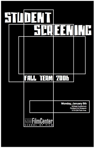 Fall 06 Student Screening Poster Attempt #2