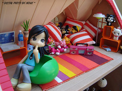 Home ;D (Inoue_Orihime) Tags: street macro cute toy toys japanese doll vinyl pinky kawaii pinkyst pinkystreet rement rui dollhouse sylvanianfamilies babysue vanceproject jfigure