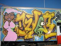 Dzyer (Jsh) Tags: sf sanfrancisco graffiti mission uhaul dzyer potrerohill icp