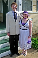 Easter (Knit n Frog) Tags: hat easter newjersey knitting purple lace anniversary crochet nj lavender knit handknit happycouple ribbon crocheted whiteshoes prettydress eastersunday jamesburg crochetedbag handknitlace