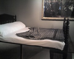 Lincoln's death bed