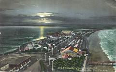 Vintage Postcard, Tent City 2