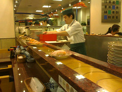 Sushi (Matthias Wagner) Tags: japan sushi contextwatcher cellmcc440 timehour11 celllac8703 cellmnc20 addresscountryjapan addresscontinentasia addresssubdivisionkanagawa cellcid6645894