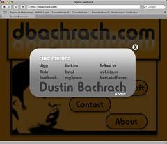 很酷 CSS特效 – Dashboard