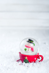 snow globe with snowman (lyule4ik) Tags: snowman holiday christmas merry cane candy snow background globe festive decoration ornament ball xmas white seasonal celebrate celebration snowflake season winter december joy glass cold sparkle decorative shiny tradition design silver space decorate magic copy wood red pink contemporary composition outdoor shimmer toy happiness chrystal copyspace bokeh symbol