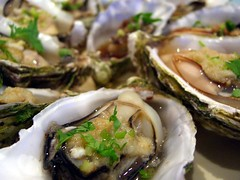 Steamed Oysters (avlxyz) Tags: food casio shellfish seafood oysters vic oyster exilim springvale z850 springvalevic eatdrinkblog2010