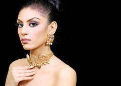 Rocks n Gold (Ariaana) Tags: fashion gold model modeling designer jewellery nikkor lahore pakistanfashion ariaana