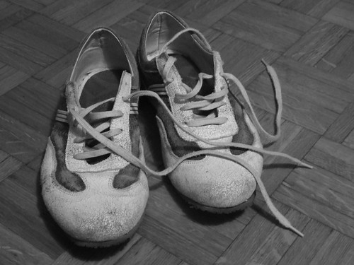 Old pair of shoes
