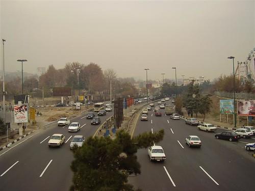 Contaminación en Teherán