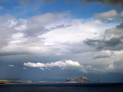 Capo Zafferano (RoBeRtO!!!) Tags: sea sky beautiful clouds cool nikon nuvole mare cielo palermo marenostrum capozafferano rdpic siciy abigfave