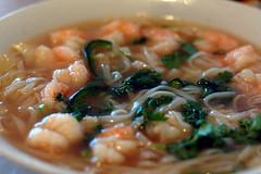 Shrimp Rice Noodle Soup (st-carrie) Tags: d50 lunch soup shrimp noodles comfortfood 50mmf18 ricenoodles hooveralabama rosegardenrestaurant thatslurpysoundimakewhenieatsoup