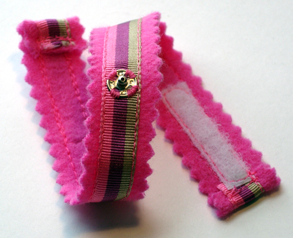 Cashmere Ribbon Wristlet