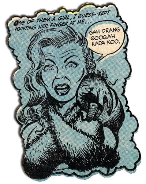 Ghost Comics #9 - Gah Drang Googah Kada Koo