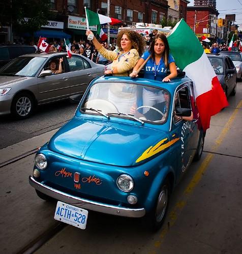 Little Italy, World Cup 2006, Toronto, Ontario, Canada