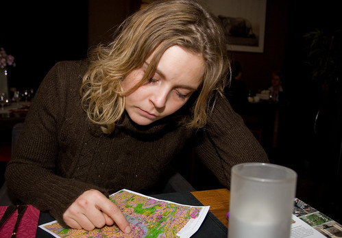 Reading map by Andreas Solberg.