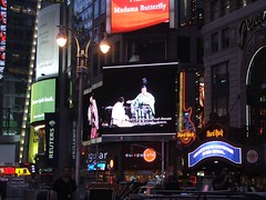 Madama Butterfly at Times Square