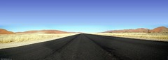 The road to Sossusvlei