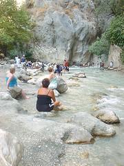 Saklakent (Turkey) Gorge again (* RICHARD M) Tags: travel turkey rocks tourists rivers gorge mugla saklakent saklakentgorge