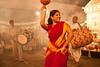 Durga Puja (Vivek M.) Tags: smile festival dance kali indian bangalore reddress durgapuja bengali