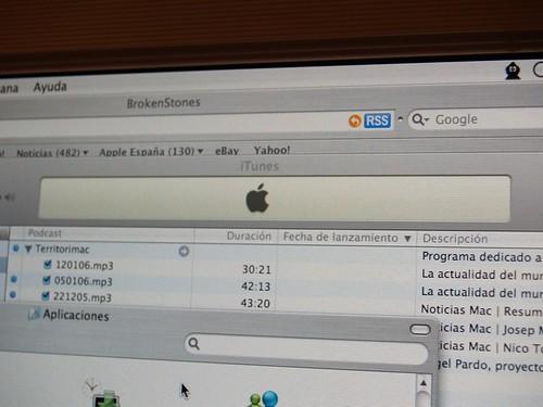 Pantalla de MacOS X por jhderojas.