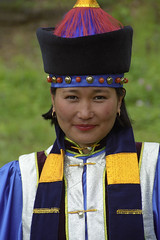 Buryat Woman (Leonid Plotkin) Tags: woman russia theface buryat buryatia