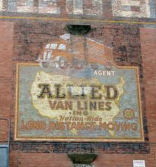 ALLIED VAN LINES (BOB WESTON) Tags: warehouse ghostsign sanantoniotexas oldsigns longhaul vanlines