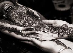 Mehndi vs. Mehndi (Ali Brohi) Tags: 20d tattoo canon hands pattern henna mehndi hinna seedingchaos moazzambrohicom httpwwwmoazzambrohicom wwwmoazzambrohicom