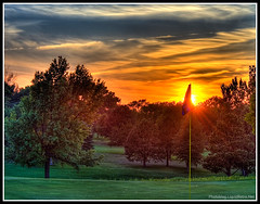 Hill-HDR1-2 (eos_liquidretro) Tags: sunset 20d golf ne lincoln hdr photomatrix hillcrestcountryclub