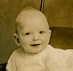 infant boy, circa 1900 (detail)