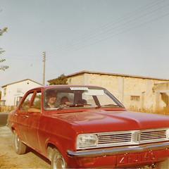Vuokrattu auto Kyproksella vuonna 1974 Cyprus in 1974 (Anna Amnell) Tags: cars 1974 cyprus kypros autot