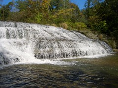 Thistlethwaite Falls near Richmond, Indiana