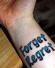 Forget Regret My new life-affirming
