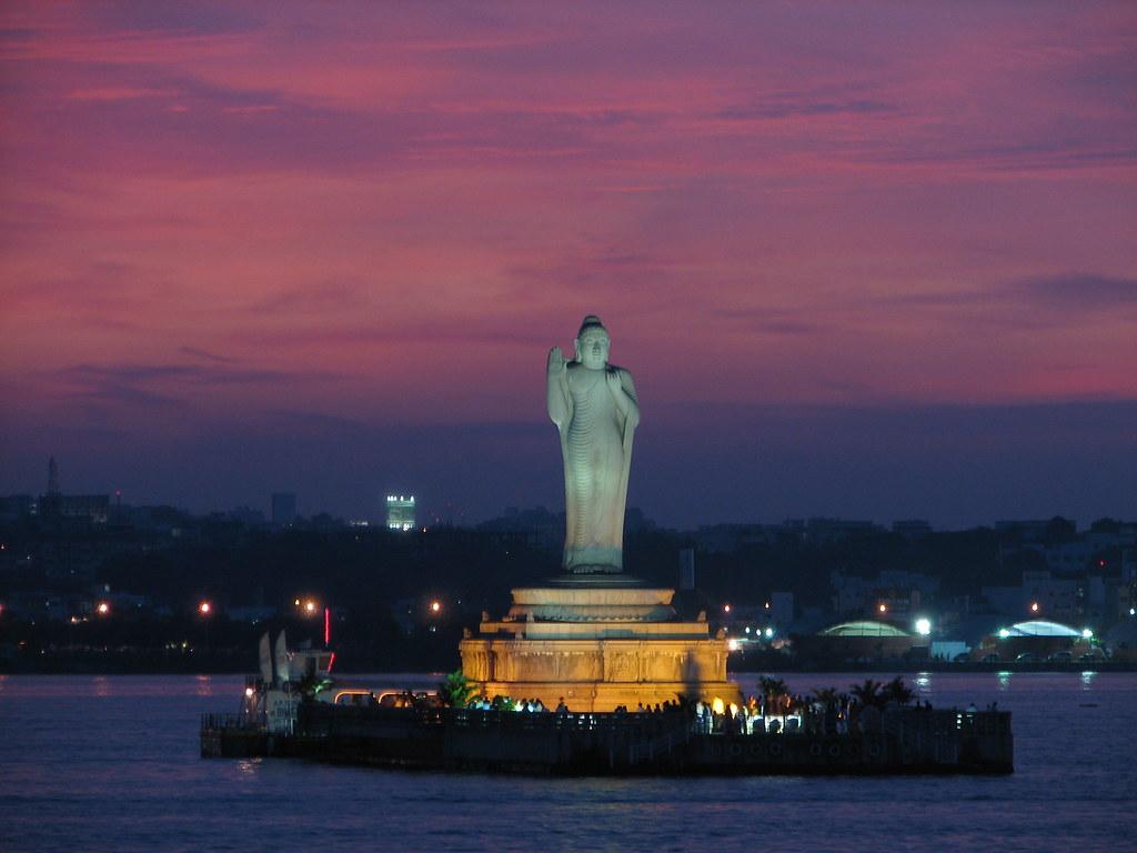 Hussain Sagar Buddha Statue