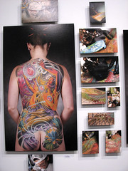 Full Coverage Tattoo Exhibit (AstroGirl) Tags: tattoo sanjose fullcoverage annodomini newskool