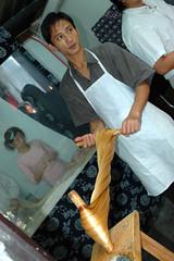 Twisted (lancewebel) Tags: china cooking baking dough twist tourists noodles vendor noodle twisted zhouzhuang webel worldteach lancewebel