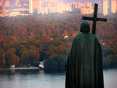 Kiev (Che-burashka) Tags: autumn river cities kiev capitals dniepr volodimir wow