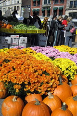NYC - Union Square: Greenmarket in the Fall by wallyg, on Flickr
