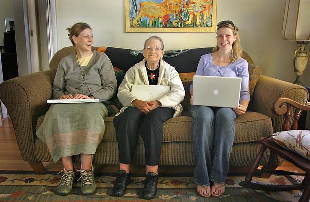 3 Generations, 1 MacBook