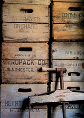 Vintage Crates #1 - by zizzybaloobah