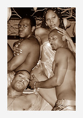 Night Scene 6 (Santi-Jose) Tags: nyc shirtless newyork men women manhattan africanamerican torso nightscene maletorso