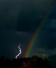 stormy promise (mplutah) Tags: nature rainbow lightning storms specnature