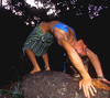 yoga in  the forest (Fiona Ayerst) Tags: yoga