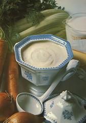 Béchamel Sauce (.michael.newman.) Tags: food vintage cookbook sauce retro carrot celery ladle bechamel